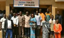 [Côte d'Ivoire/Duekoué] La coopérative CASODU offre un bâtiment de trois classes aux habitants de Amianlekro