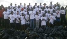 [Côte d'Ivoire/Environnement] La lagune Ebrié débarrassée d'environ 160 kg d'ordures