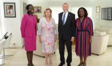 [Côte d'Ivoire/Travail des enfants] Dominique Ouattara et l'ambassadeur des USA se sont parlé