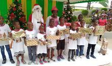 [Côte d'Ivoire/Arbre de Noël 2019] Mariatou Koné cadeaute les enfants des victimes des guerres ivoiriennes