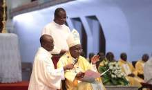 [Côte d'Ivoire/Messe en faveur de la paix à la Cathédrale St Paul] Mgr Kutwa plaide pour la libération de ceux qui ont été arrêtés dernièrement