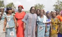 [Côte d'Ivoire/Autonomisation de la femme] Le Gouvernement offre du matériel de salubrité et agricole aux femmes de Taï