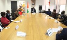 [Côte d'Ivoire/Presse en ligne] Le ministre des PME échange avec des patrons d'entreprises de médias numérique