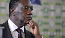 [Côte d'Ivoire/Obsèques du Premier ministre] Alassane Ouattara a présidé la cérémonie d'hommage de la nation avec beaucoup d'émotion
