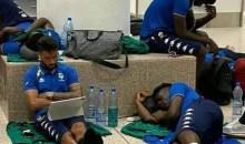 [Football/Eliminatoires CAN 2021] Le calvaire d'Aubameyang et ses coéquipiers à l'aéroport de Banjul (Gambie)