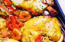 Recette de la semaine : Poulet mariné au gingembre et bananes plantain