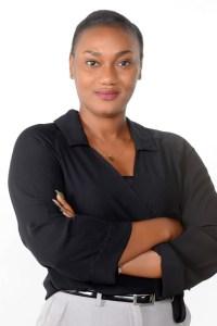 Dorine N'Dri, chargée de mission et formatrice. Ph.Dr