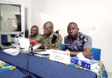 le collectif des syndicats significatifs des agents pénitentiaires de Côte d'Ivoire