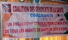 [Arrestations des agents de santé, Primes Covid-19, statut de l'INFAS,…] La Coalisanté annonce le dépôt d'un préavis de grève dès le lundi 12 septembre prochain