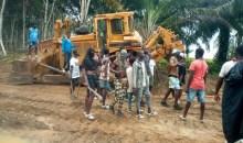 [Côte d'Ivoire/Lotissement '' Songon Agban Bité ''] En colère, les propriétaires terriens Atchan font arrêter des travaux et se disent prêts à défendre leurs terres au prix de leur vie