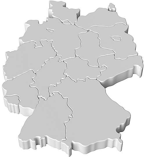 deutschlandkarte maschinenbau