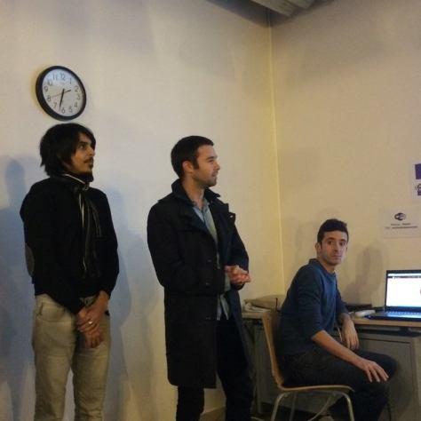Salim, Florian et Aurélien nous présentent Mama Cook'in