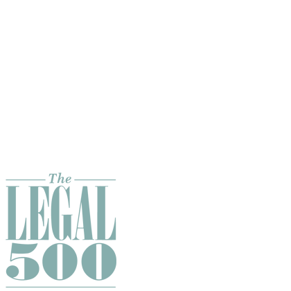 logo Le Poole Bekema wederom aanbevolen door The Legal 500 en Chambers