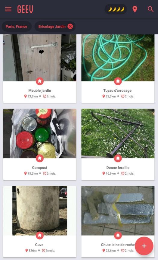 Les applications mobiles pour la permaculture urbaine / Geev