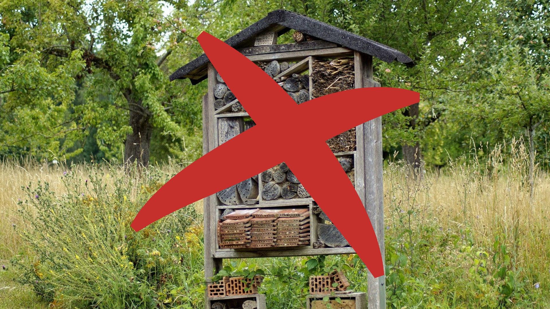Aménager Son Balcon Avec Des Palettes n'installez pas d'hôtel à insectes sur votre terrasse de