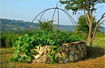 le keyhole garden