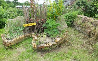 Créer son keyhole garden ou jardin en trou de serrure en 7 étapes.
