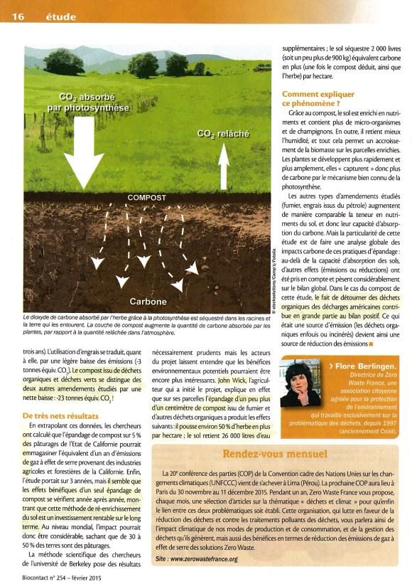 Compost - sequestration du carbone 2