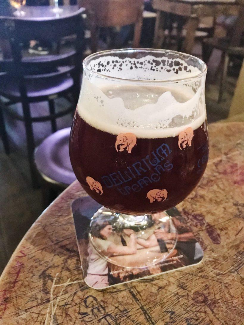 Bière Délirium.