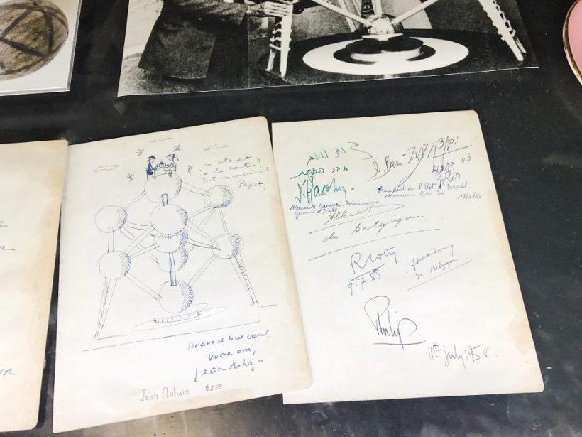 Exposition de l'Atomium.