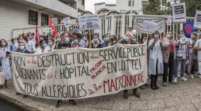 Hôpital public : Journée nationale de manifestation le 16 juin