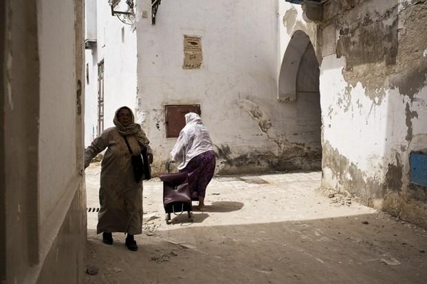 Túnez, Cairuán. La medina.Tunisia, Kairouan. The medina quarter.© Navia