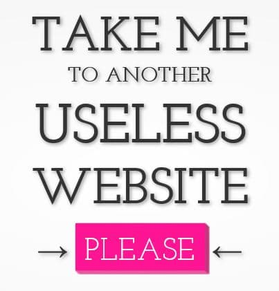 page-accueil-useless-web