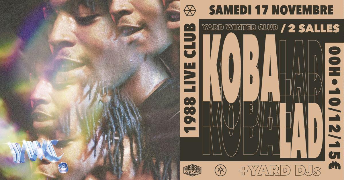 Koba laD débarque à Rennes avec Yard pour un turn-up qui s'annonce légendaire !
