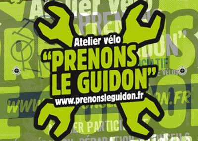 LeRalph / Logo Prenons le Guidon