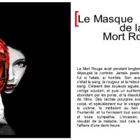 Edgar Allan Poe / Masque de la Mort Rouge