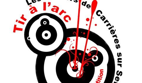 Identité visuelle - USC Tir à l'arc - Cabochon - saison 2012