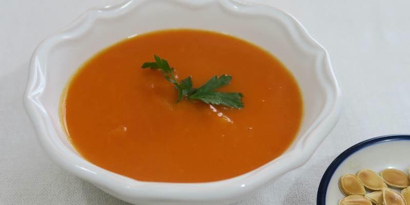 soupe courge aux deux dashis