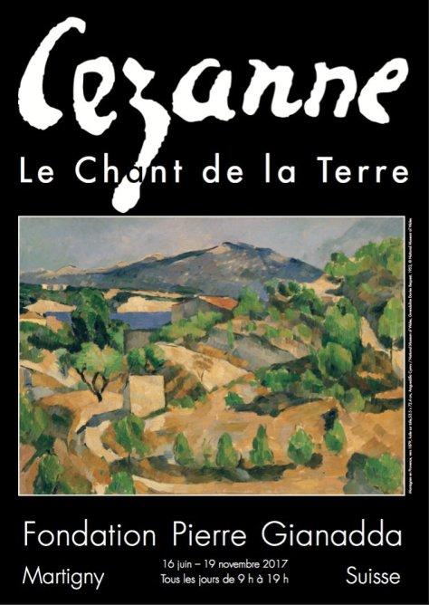 Affiche Cézanne, le Chant de la terre