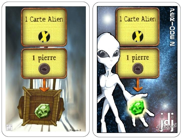 X deck cartes pierre