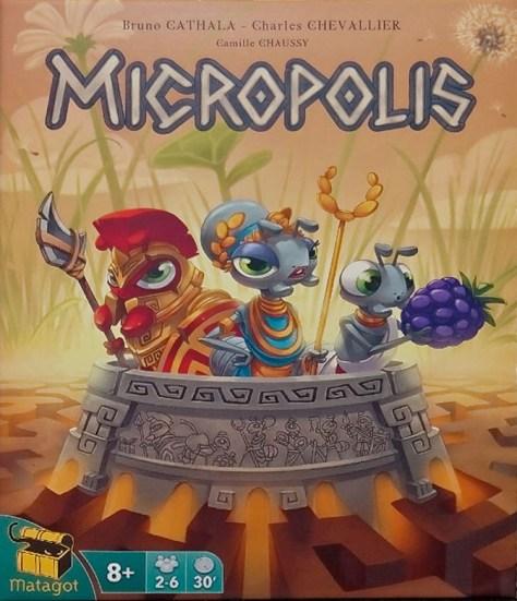 Micropolis illustré par Camille Chaussy