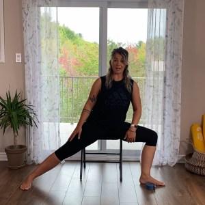 Marie Eve du repaire yoga photo présentation vidéo arthrose