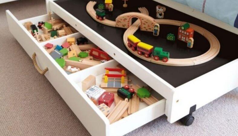 10 astuces de rangement de jouets