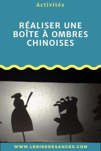 fabriquer une boite à ombres chinoises