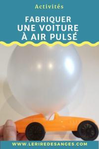 comment fabriquer une voiture à air pulsé