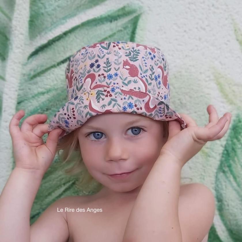 bob chapeau soleil ecureuil