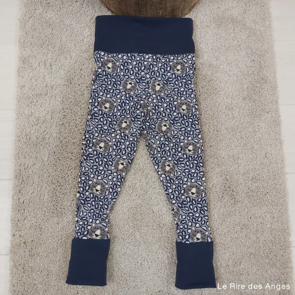 legging evolutif avec revers