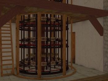 Antico filatoio della seta a Bologna