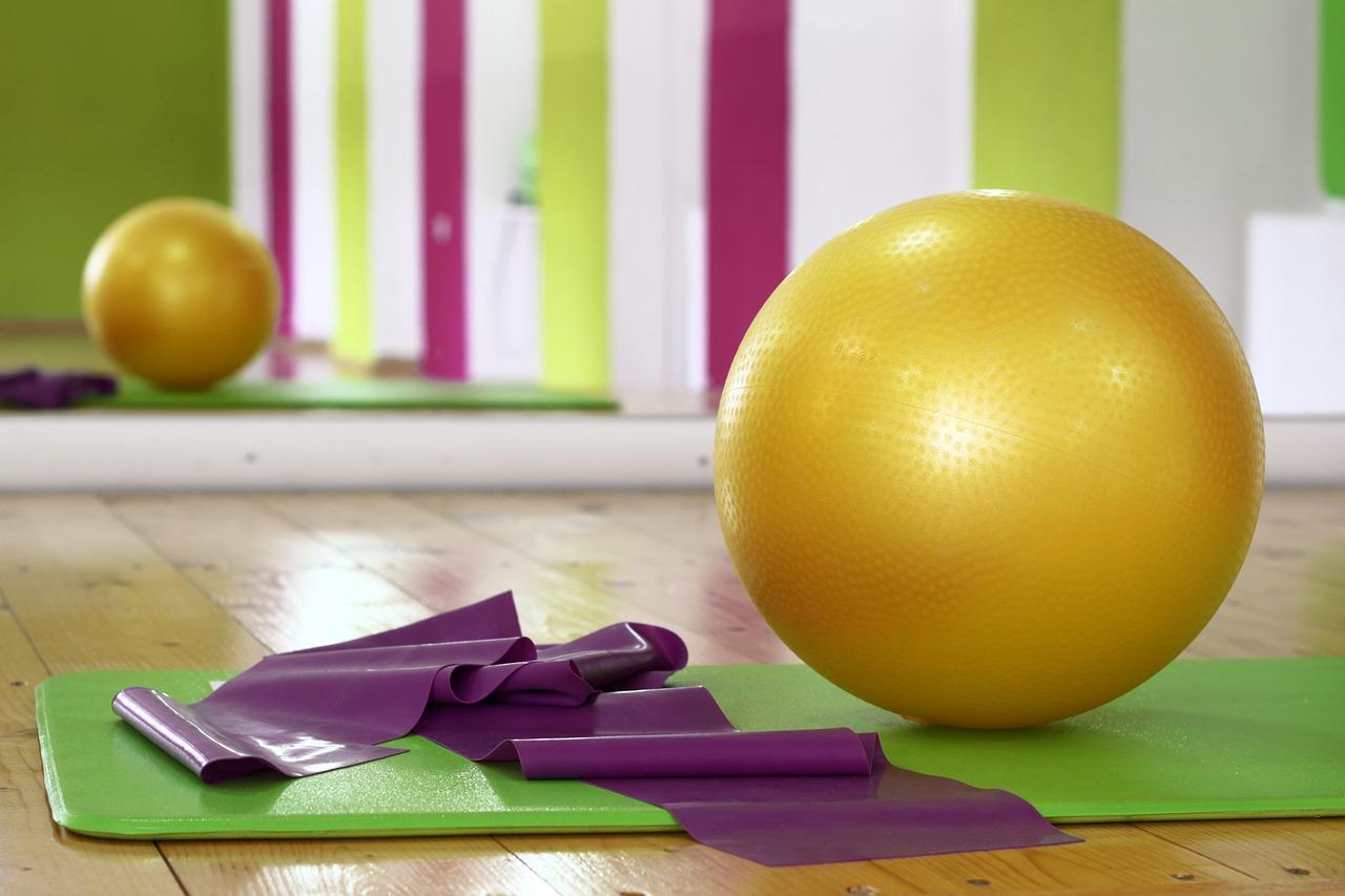 Hilfsmittel für das Pilates-Training