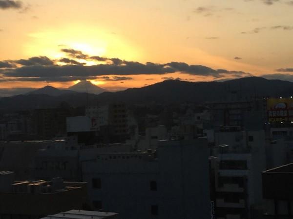 MtFuji20141207-fromHachioji