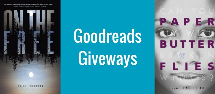 Free teen books goodreads giveaways