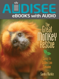 The Great Monkey Rescue ebook with audio