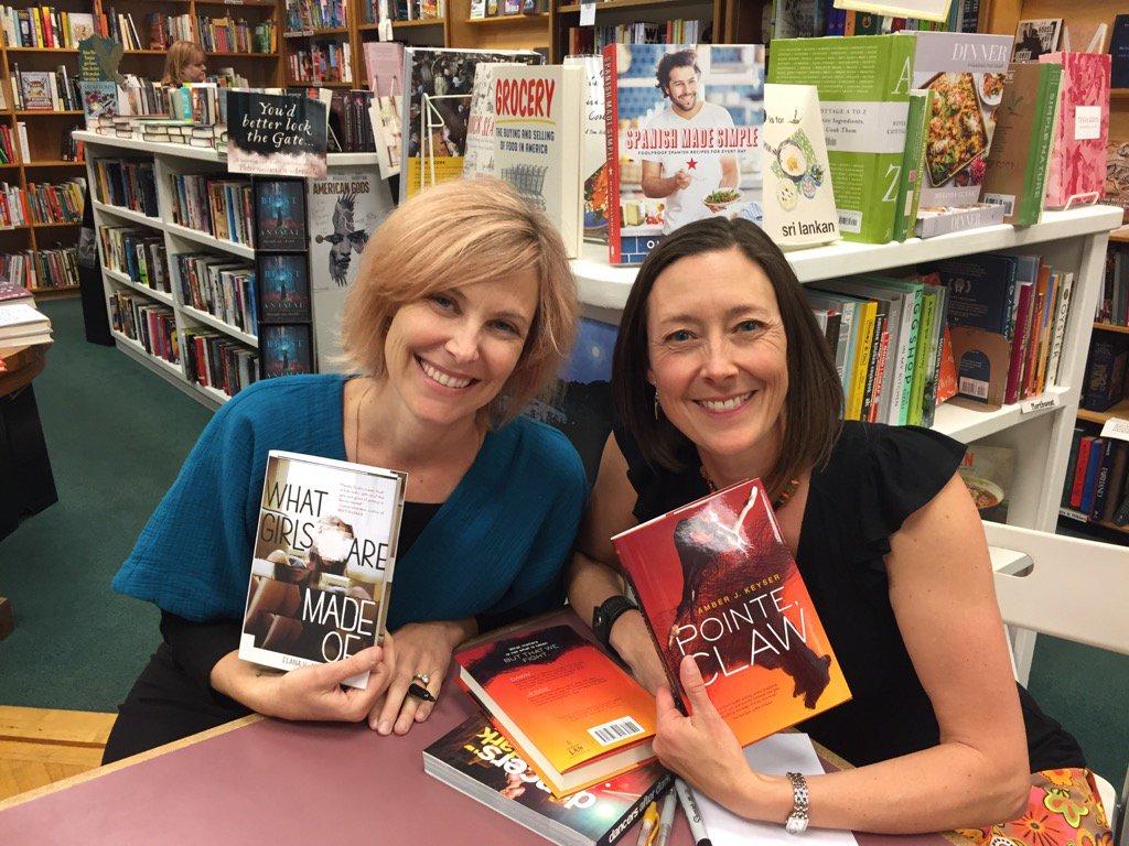 Elana K. Arnold and Amber J. Keyser