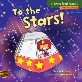Cloverleaf Books Space Adventures series for beginning readers