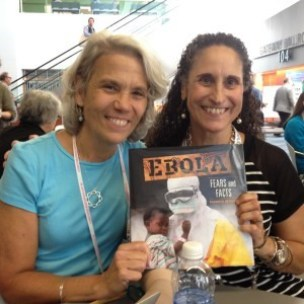 Sea Otter Heroes author Patricia Newman and Brenda Kahn
