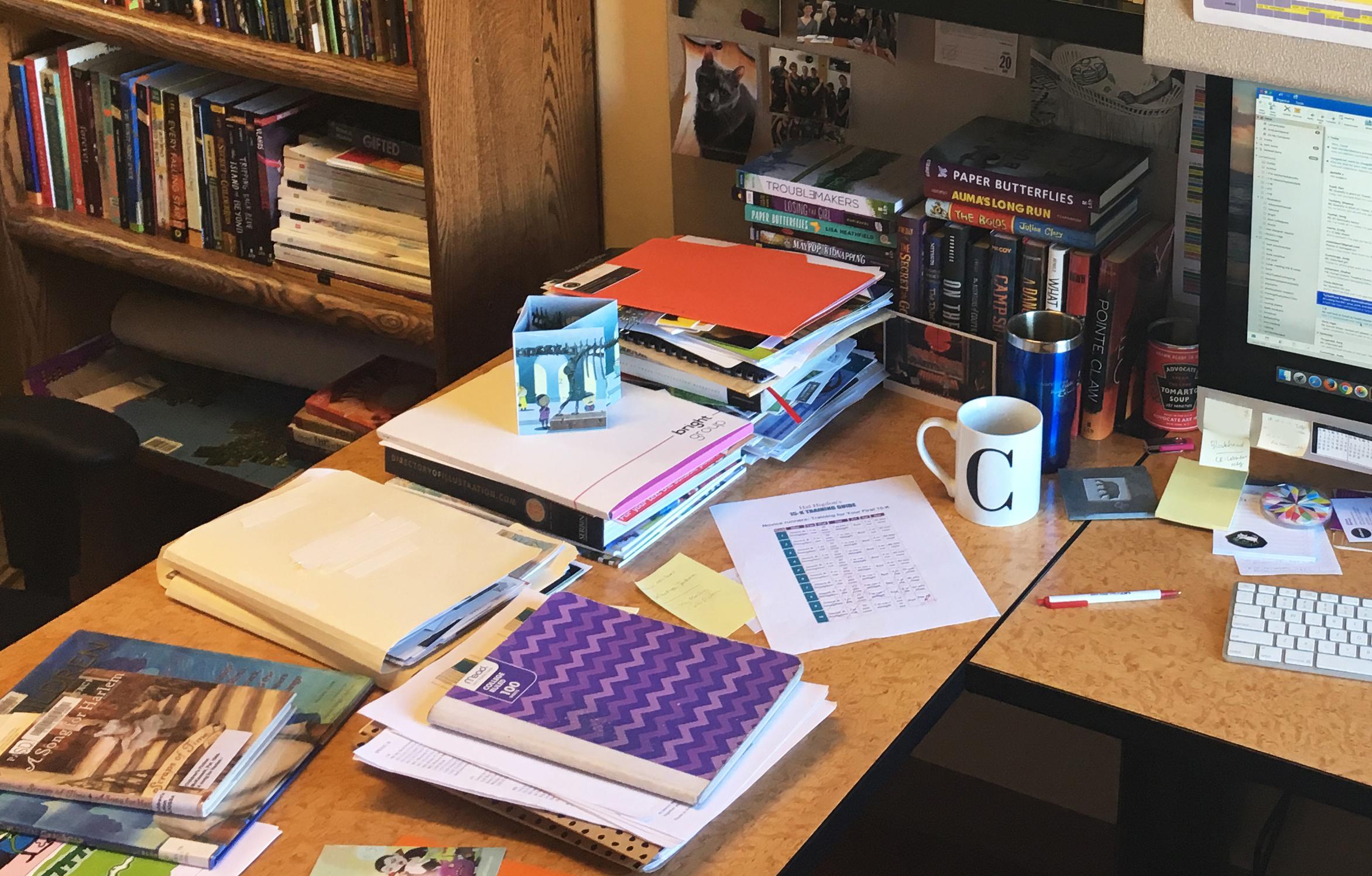 art director desk